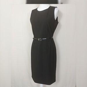 Calvin klein Sheath Black Dress Career Work casual